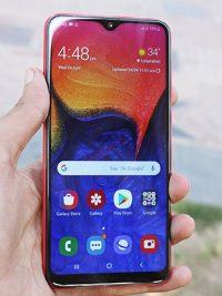 samsung galaxy A10 ekran değişimi