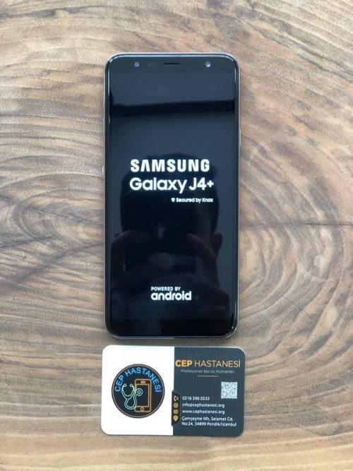 samsung galaxy j4 plus ekran değişimi