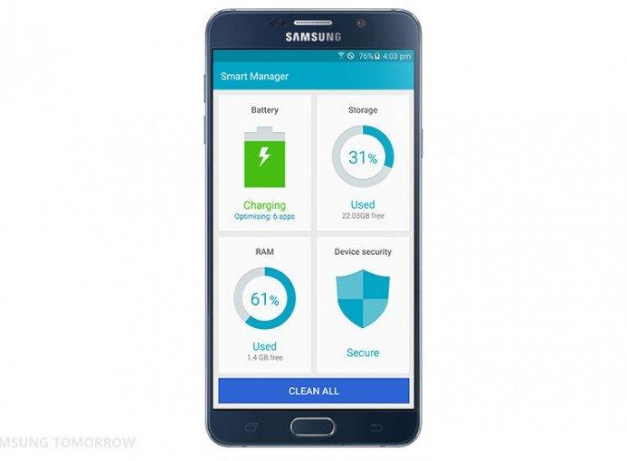 Samsung Smart Manager İle Ram Temizleme
