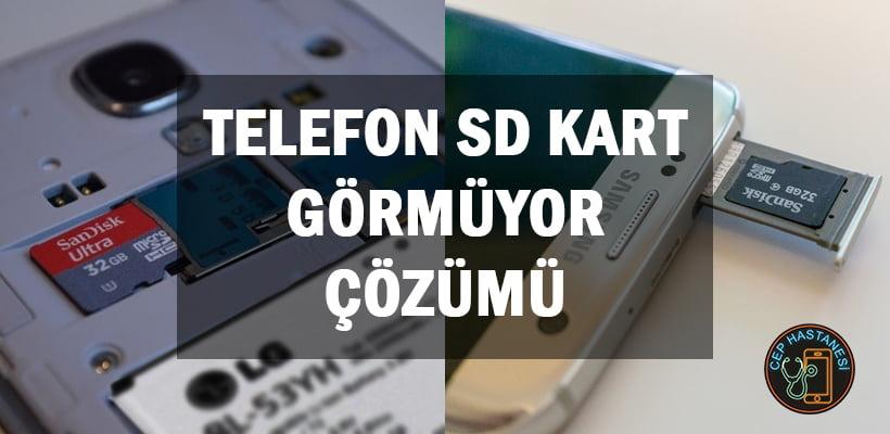 Telefon SD Kart Görmüyor Çözümü