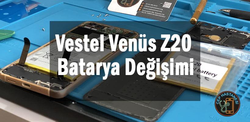 Vestel Venüs Z20 Batarya Değişimi