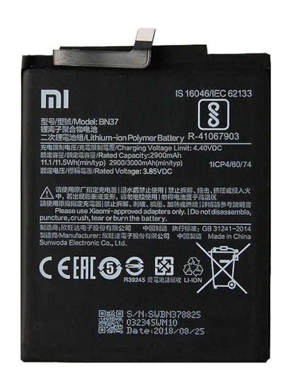 Xiaomi Redmi Note 6 Batarya Değişimi