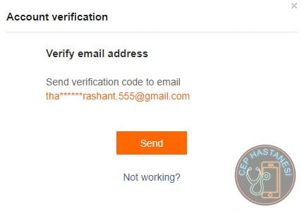 Email Verification Xiaomi Account