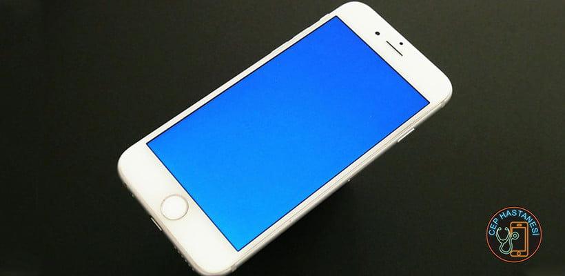 iPhone Mavi Ekran