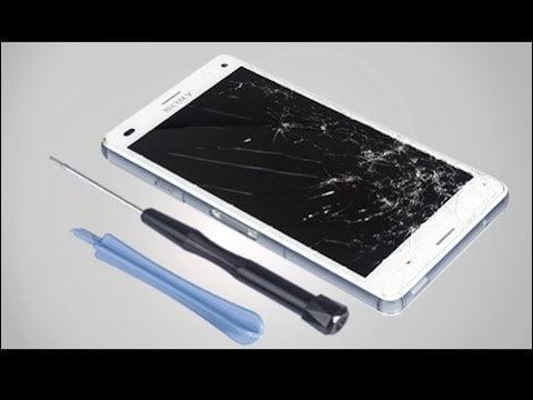 Sony A1 Ekran Kırılması