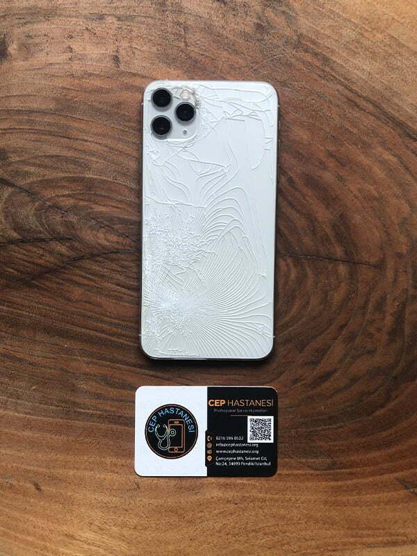 iPhone 11 Pro Max Arka Kamera Cam Değişimi