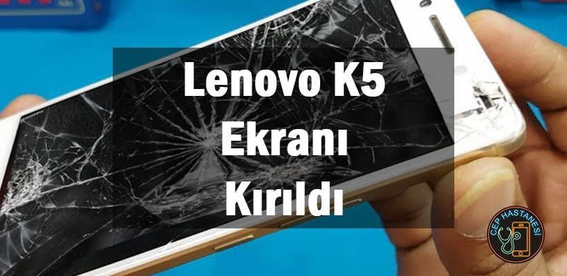 Lenovo K5 Ekranı Kırıldı