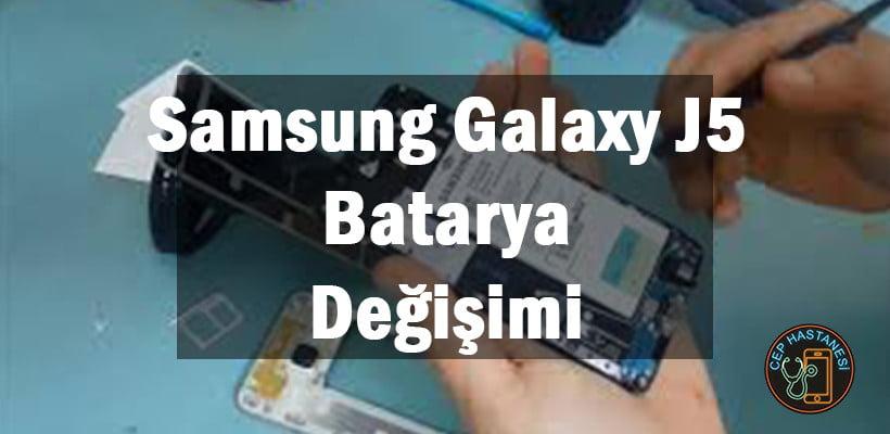Samsung Galaxy J5 Batarya Değişimi