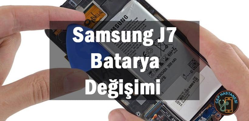 Samsung J7 Batarya Değişimi