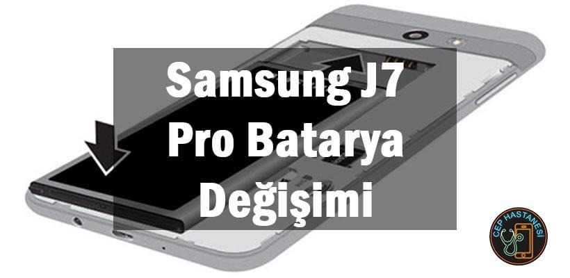 Samsung J7 Pro Batarya Değişimi