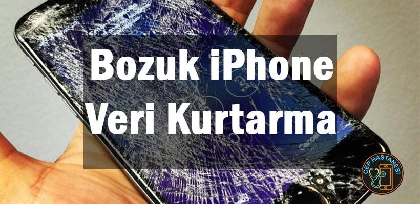 Bozuk iPhone Veri Kurtarma
