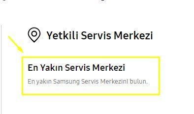Garanti Sorgulama Samsung