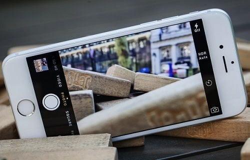 iPhone 6'nın kamerası