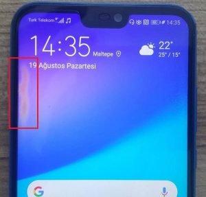 Huawei Ekranda Sarı Leke Neden Olur