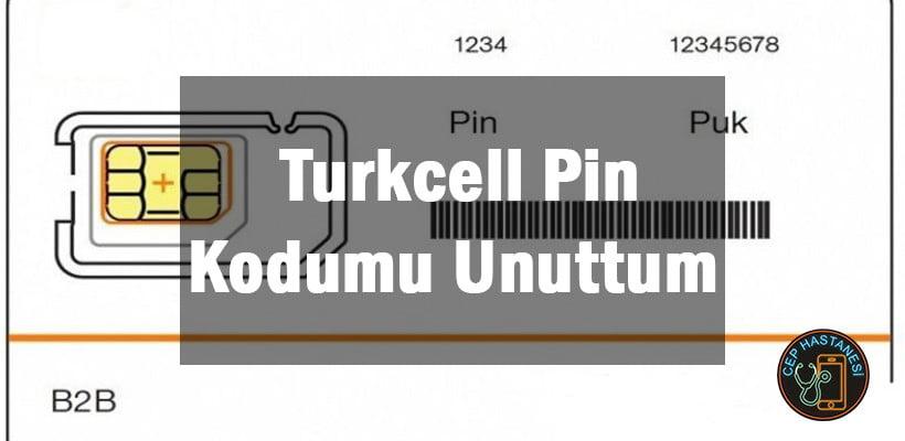 Turkcell Pin Kodumu Unuttum