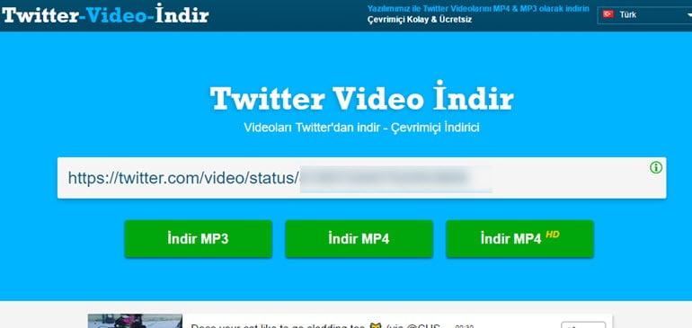 Twitter Video Nasıl İndirilir