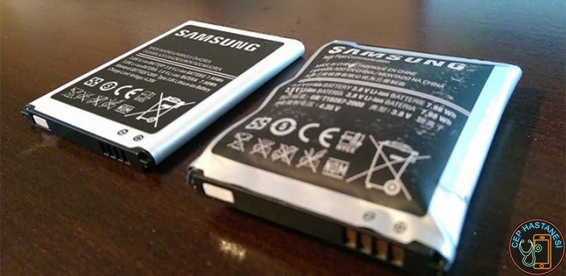 Samsung Şişmiş Batarya