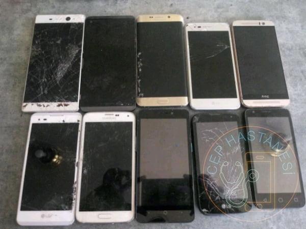 ekranı kırık telefonlar