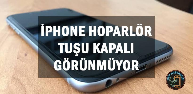iPhone Hoparlör Tuşu Kapalı GörünmüyoriPhone Hoparlör Tuşu Kapalı Görünmüyor