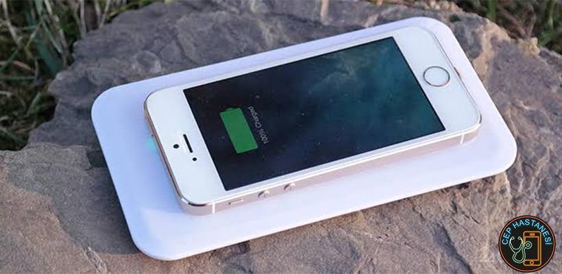 iPhone Kablosuz Şarj Nasıl Kullanılır