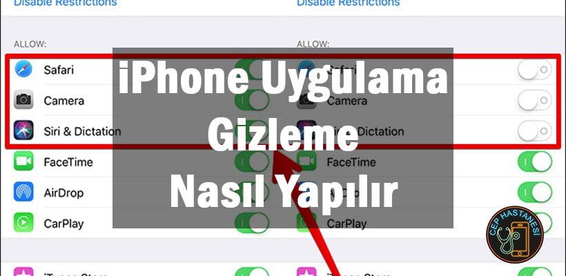 iPhone Uygulama Gizleme Nasıl Yapılır