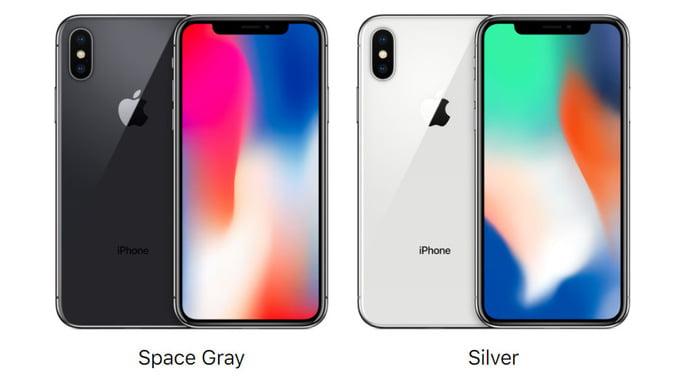 iPhone X Renkleri