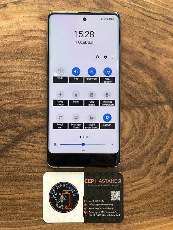 samsung galaxy s20 plus ekran değişimi