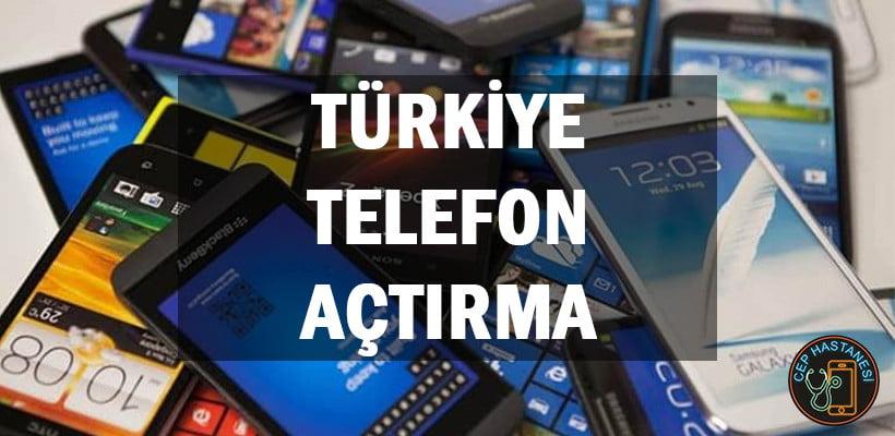 Türkiye Telefon Açtırma