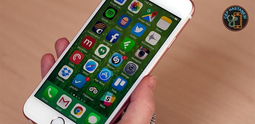 iPhone Test Menüsü