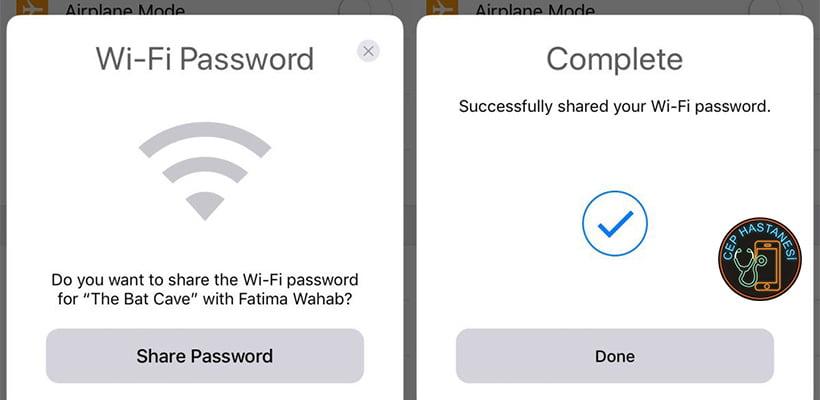 iPhone Wifi Şifre Değiştirme