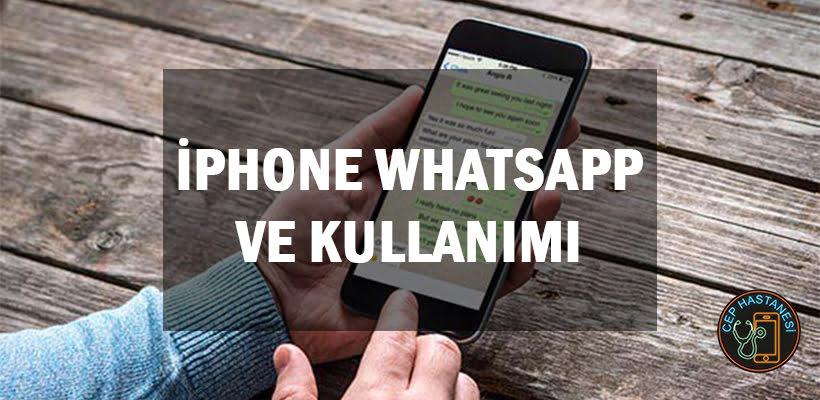 iPhone Whatsapp Ve Kullanımı