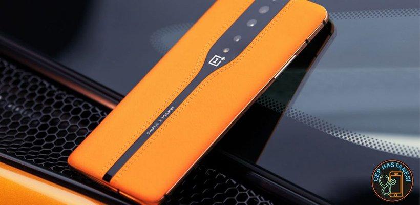 OnePlus MacLaren Tasarımı Olan Telefon