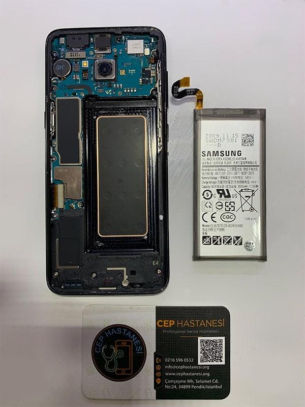 samsung galaxy s8 batarya değişimi