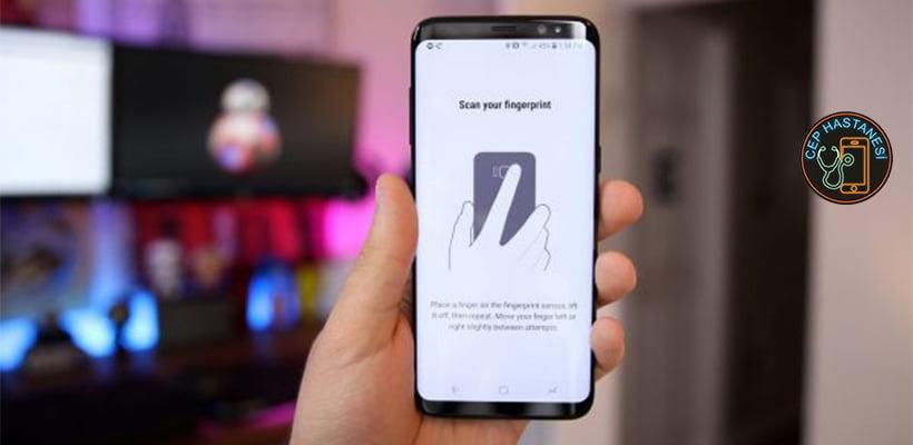 Samsung Galaxy S9 Plus Parmak İzi Okuyucu Değişimi