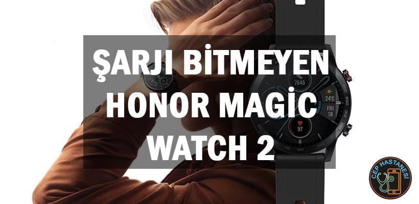 Şarjı Bitmeyen Honor Magic Watch 2