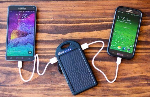 güneş enerjisi ile telefon şarj etmek