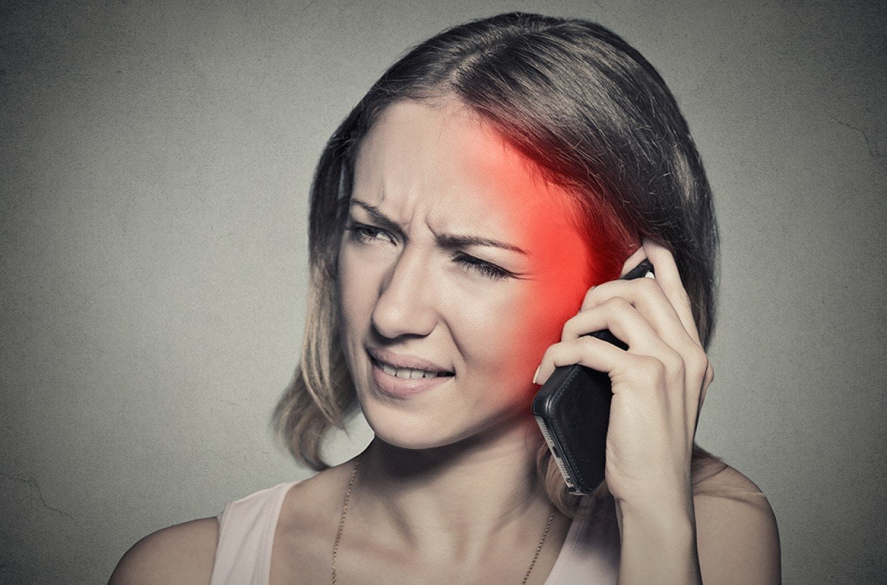 telefon baş ağrısı