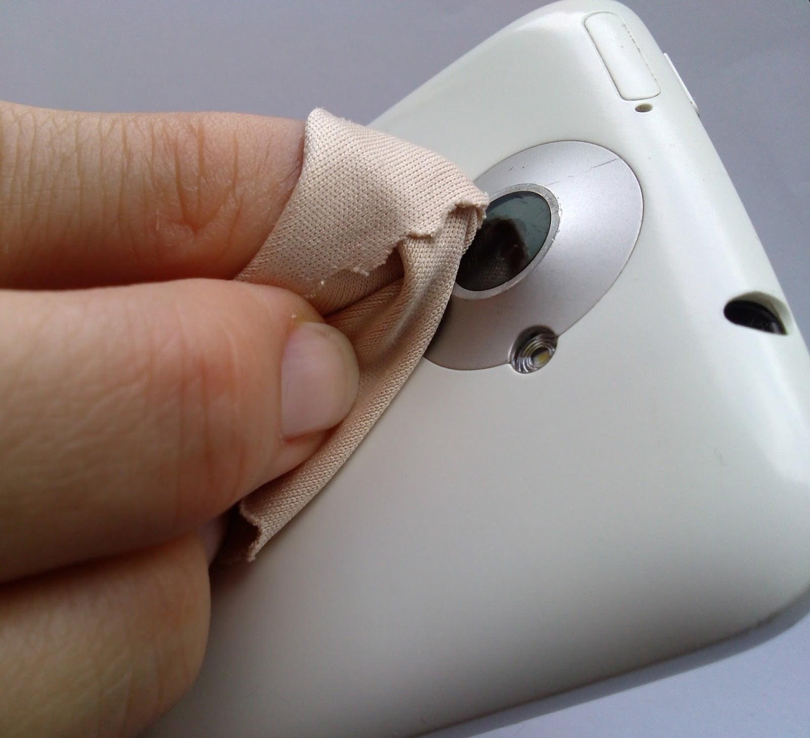 telefon kamerası temizleme
