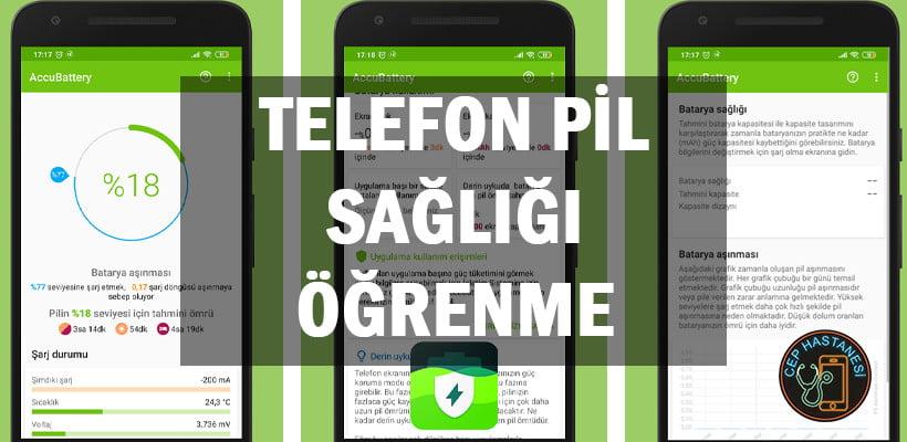 Telefon Pil Sağlığı Öğrenme