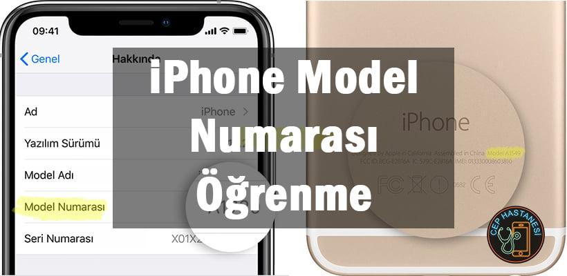 iPhone Model Numarası Öğrenme