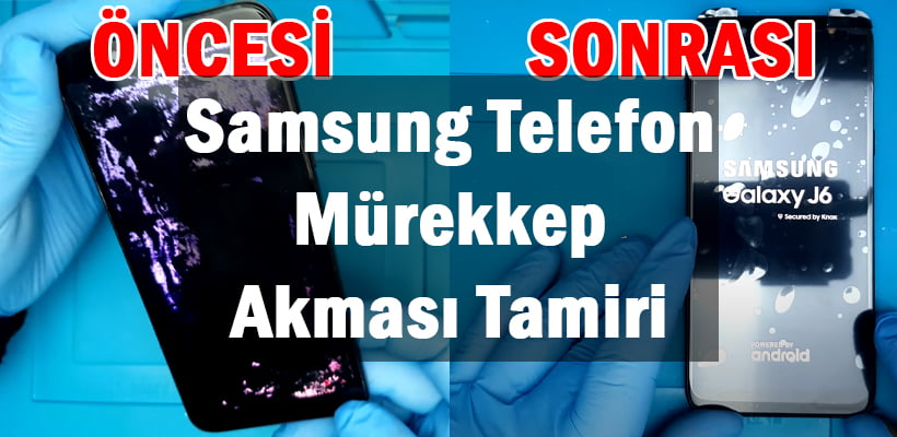 Samsung Telefon Mürekkep Akması
