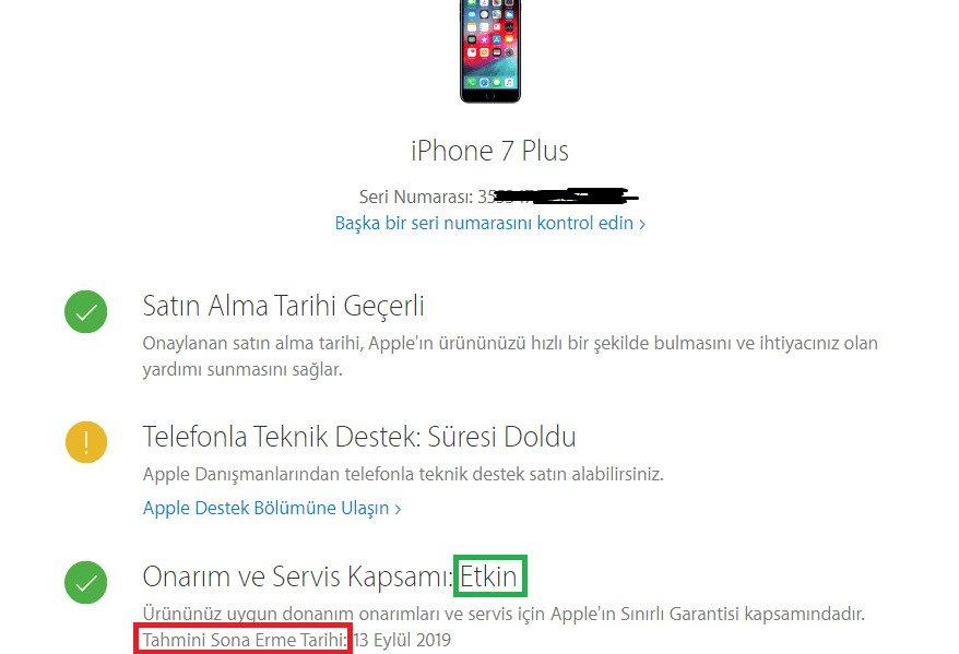 iPhone Dokunmatik Bir Kısmı Çalışmıyor
