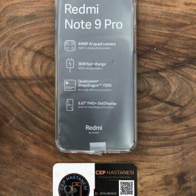 Xiaomi Redmi Note 9 Pro Ekran Değişimi