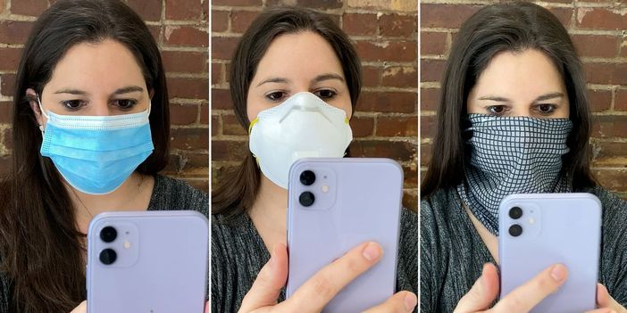 Maske ile face id iphone kilidi açma