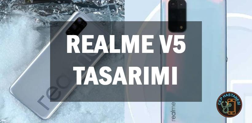 Realme V5 Tasarımı