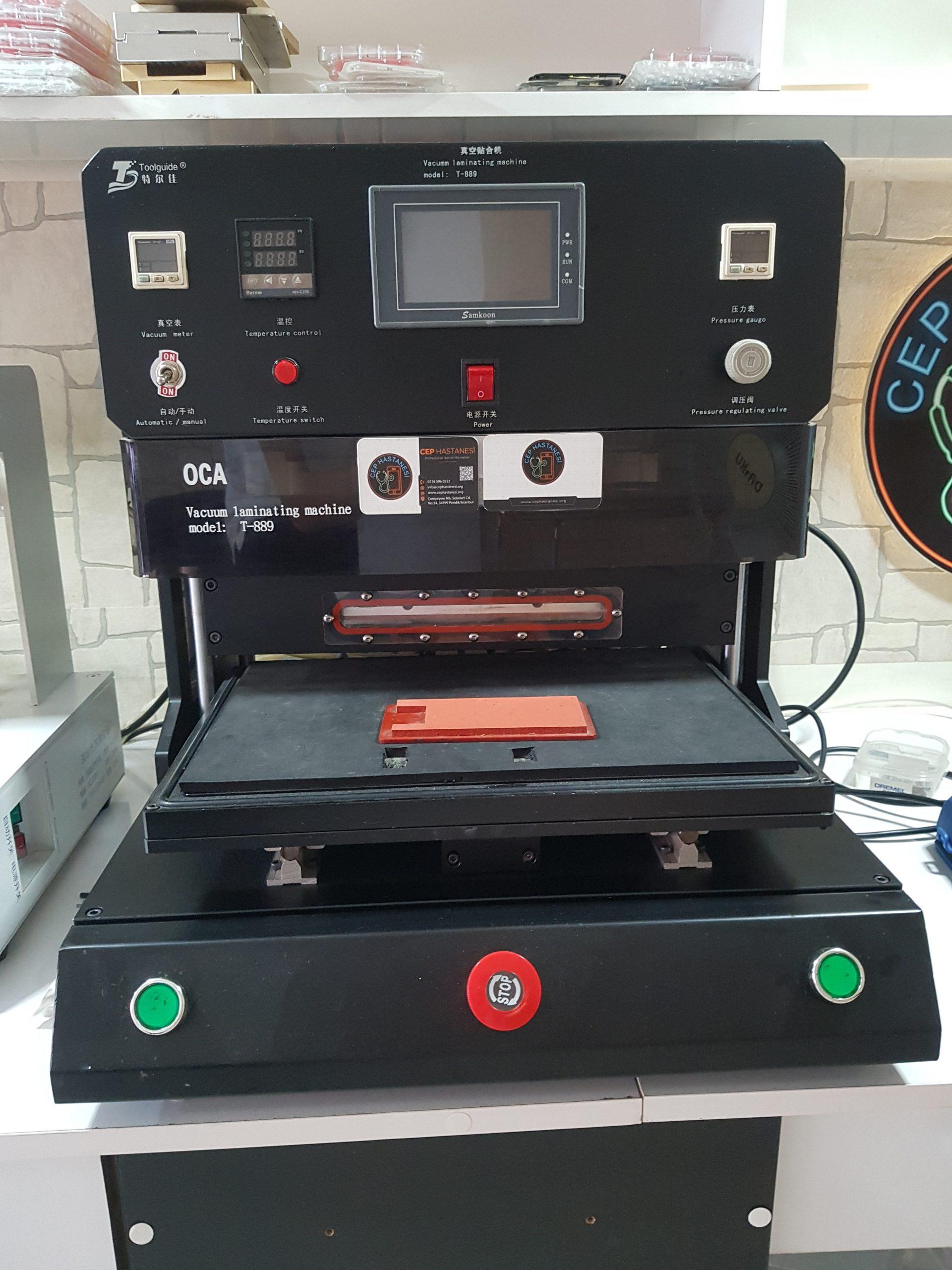 Ekran Laminasyon Makinesi