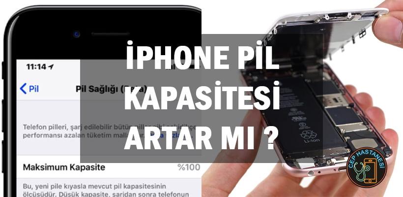 iPhone Pil Kapasitesi Artar Mı