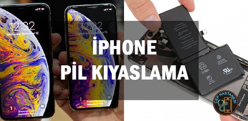 iPhone Pil Kıyaslama