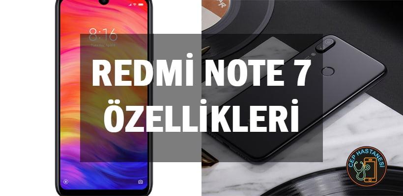 Redmi Note 7 Özellikleri