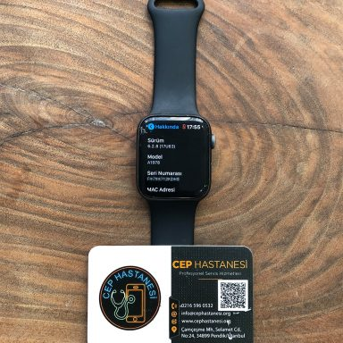 Apple Watch 4. seri 44mm Cam Değişimi